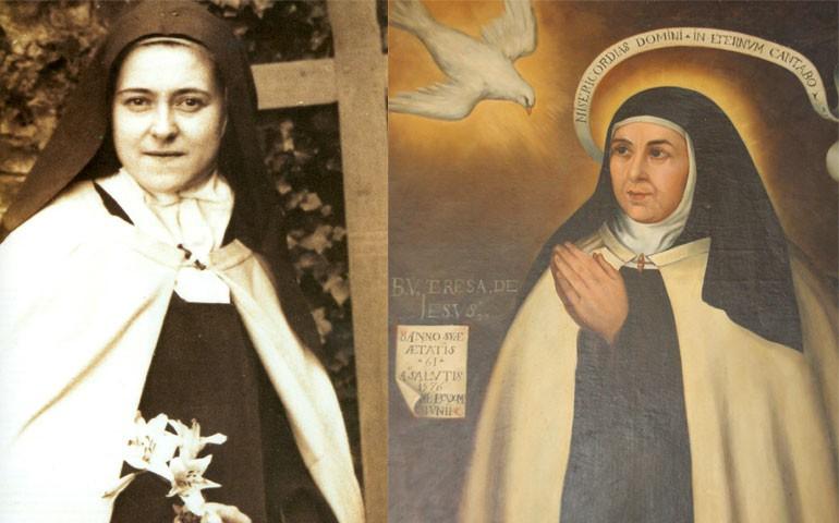 Santa Teresa de Jesús visita a santa Teresita de Lisieux ...