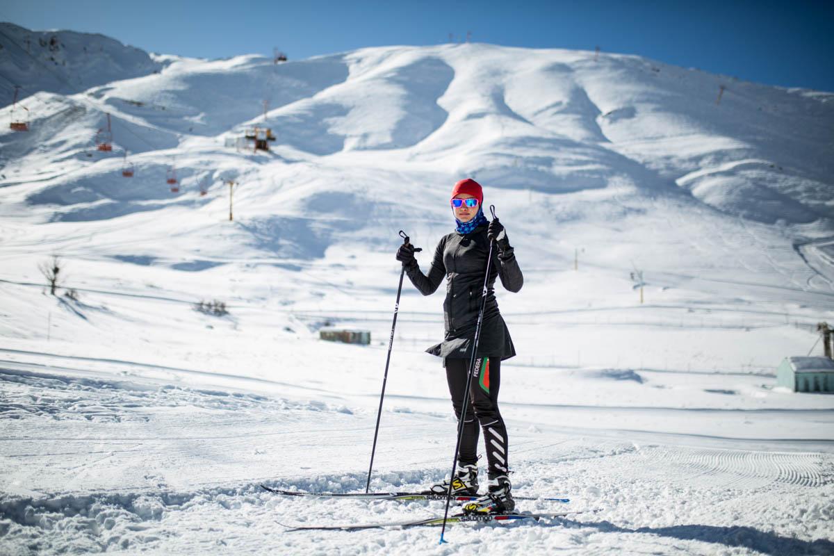 Iran's female skier blazes a trail to Pyeongchang | Iran ...