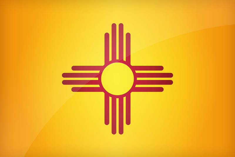 Flag of New Mexico - Download the official New Mexico's flag