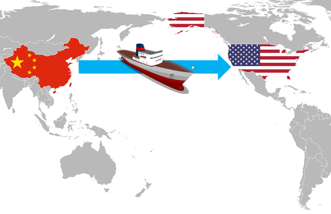 Shipping from China to the USA | AllAboutLean.com