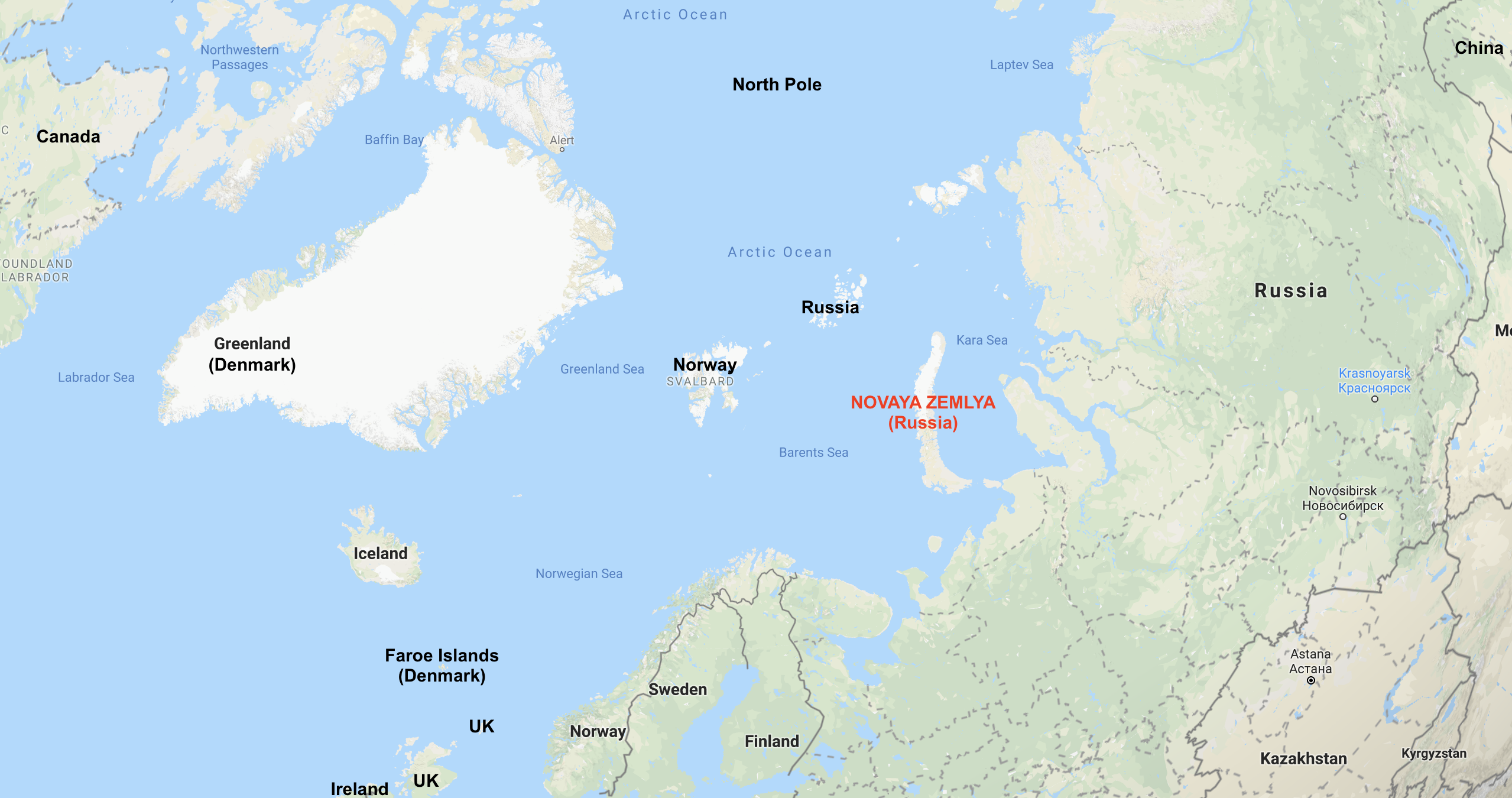 Russia declares emergency - mass Polar Bear invasion in ...