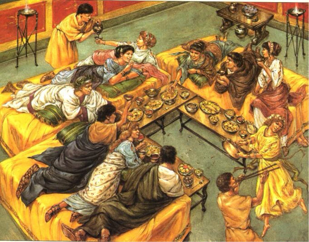 Saturnalia Feasts In Roman Empire | Ancient Pages