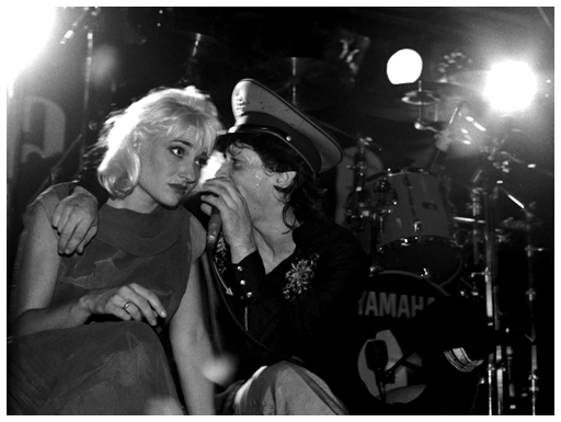 Alison Gordy with Johnny Thunders - Live at The Marquee, London, England - 30.08.88