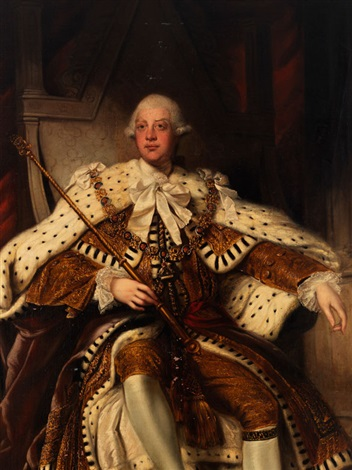PORTRAIT VON KING GEORGE III by Joshua Reynolds on artnet