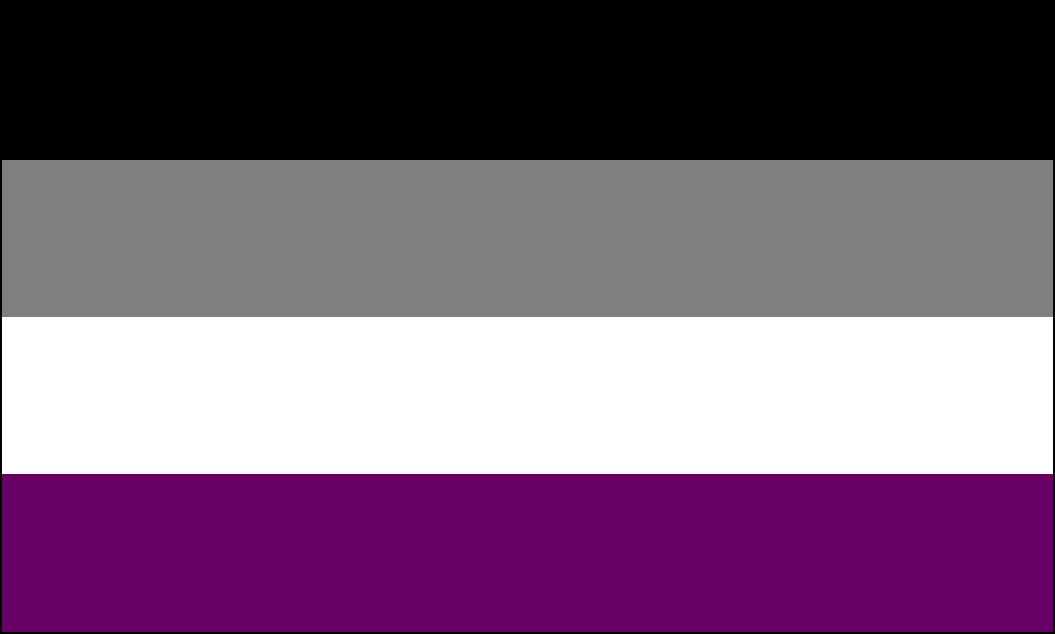 The Asexuality Flag | Asexuality Archive