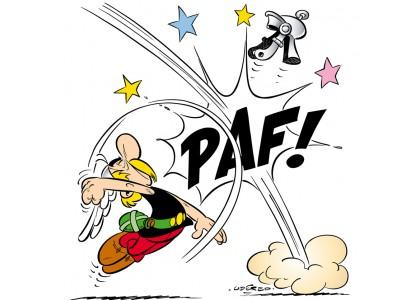 Tableau d'art contemporain - PAF! ASTERIX - de Uderzo , pour une ...