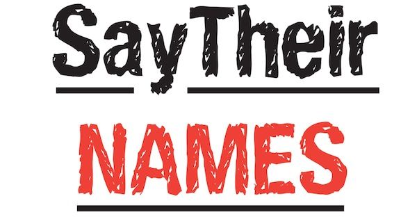 Say Their Names | A&U Magazine