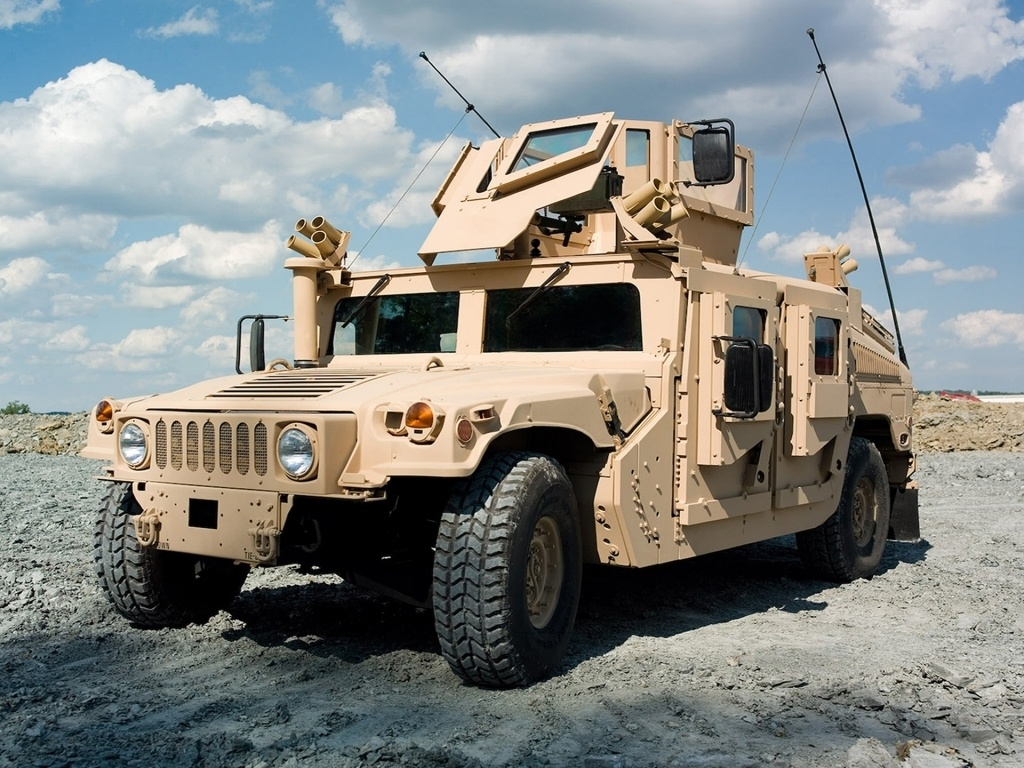 How an American police department loses a Humvee