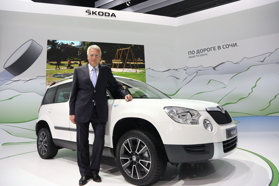 Skoda CEO Winfried Vahland - Skoda predicts over 1 million cars sales in 2014