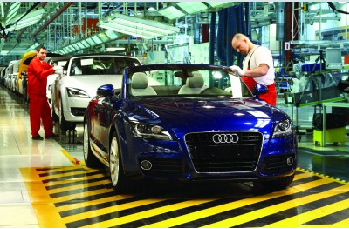 audi production in gy?r hungary -  Audi adds third shift at Hungary plant ahead of new TT launch