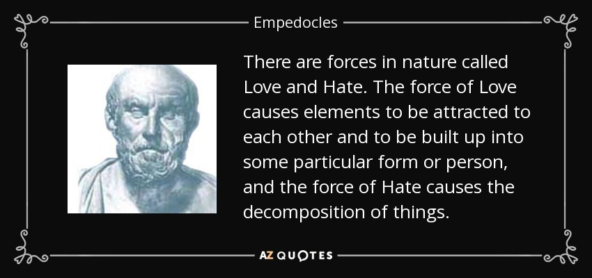 TOP 18 QUOTES BY EMPEDOCLES | A-Z Quotes