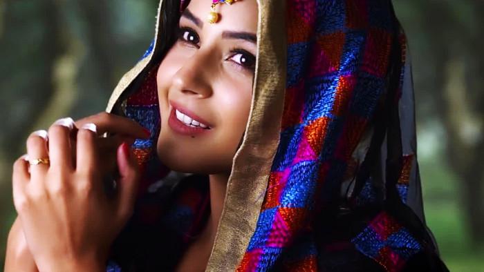 Shehnaz Kaur Gill Punjabi Model Desktop Wallpaper 16957 ...