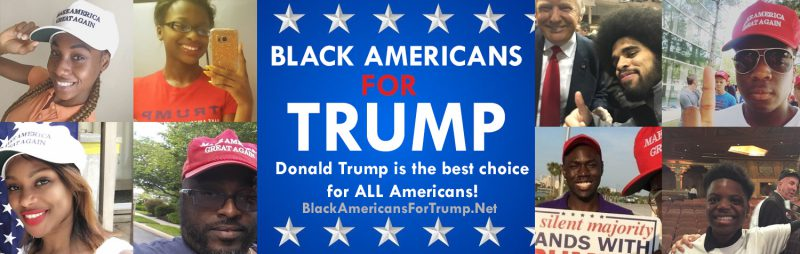 "BLACK TRUMP SUPPORTERS call Hillary Clinton a ""racist"""