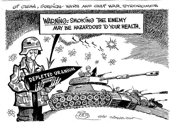 The Doctor, the Depleted Uranium, and the Dying Children ...