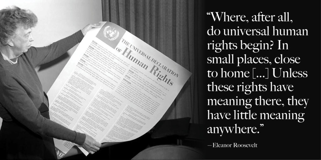 Join the global community in celebrating universal human rights this Sunday - reVerb