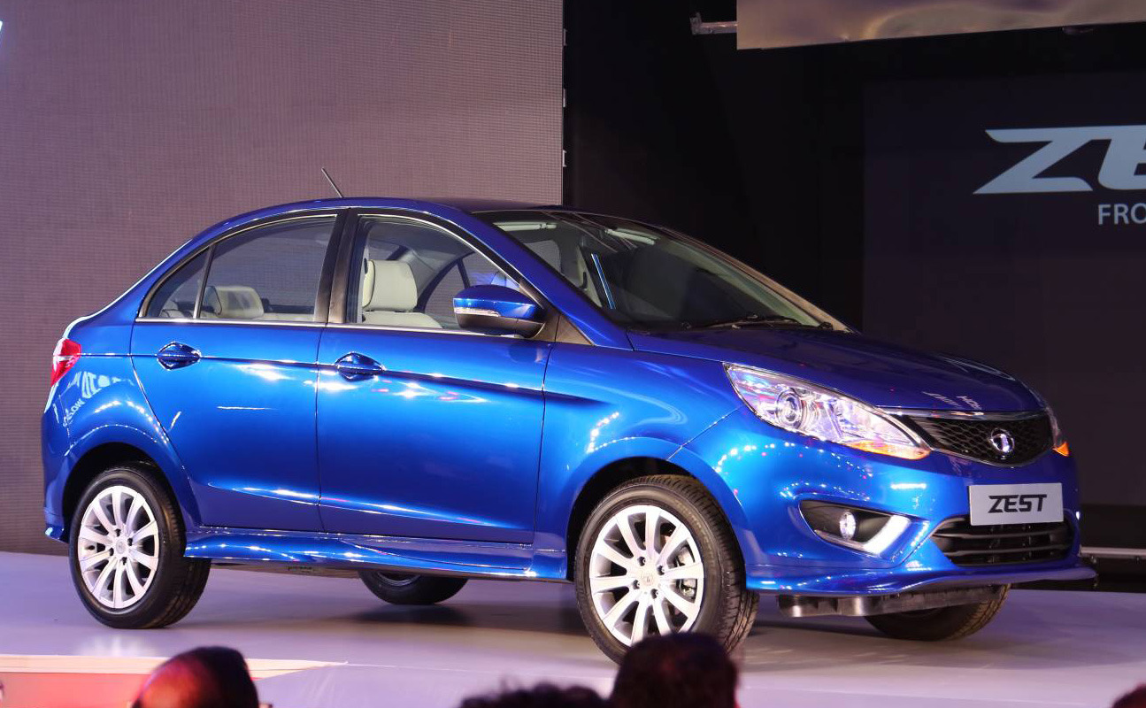 Tata Unveils First New Model Since 2010 - the zest