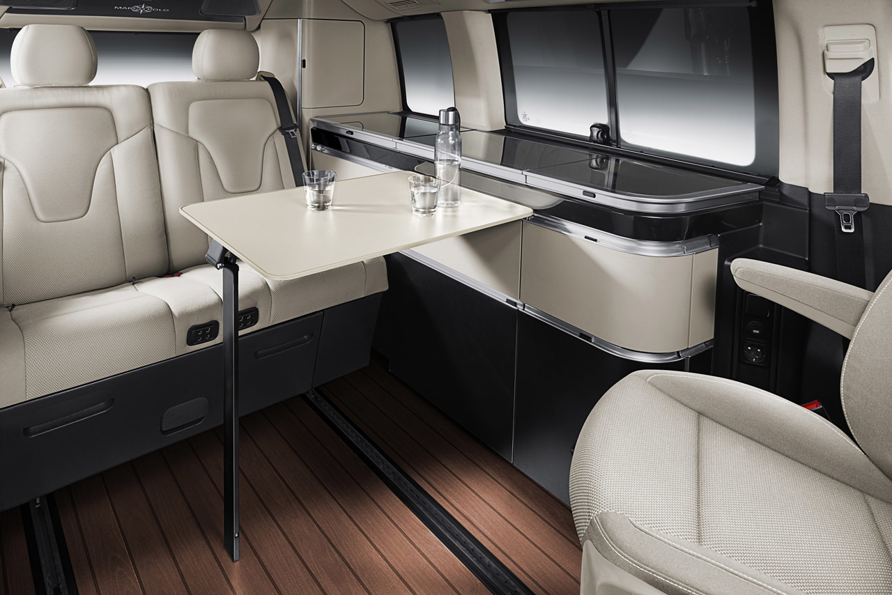 Mercedes-Benz V-Class Marco Polo is the ultimate luxury compact camper