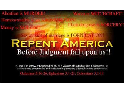 """THE WATCHMEN'S WARNING """"JUDGEMENT ON AMERICA"""" 06/14 by THE WATCHMEN ON THE WALL 