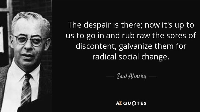 "AP: Saul Alinsky Rules For Radicals... Saul Who""... What ..."