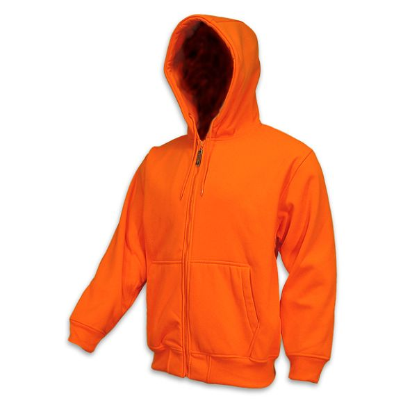 ... hunting hunting clothing orange mens hooded blaze orange sweatshirt