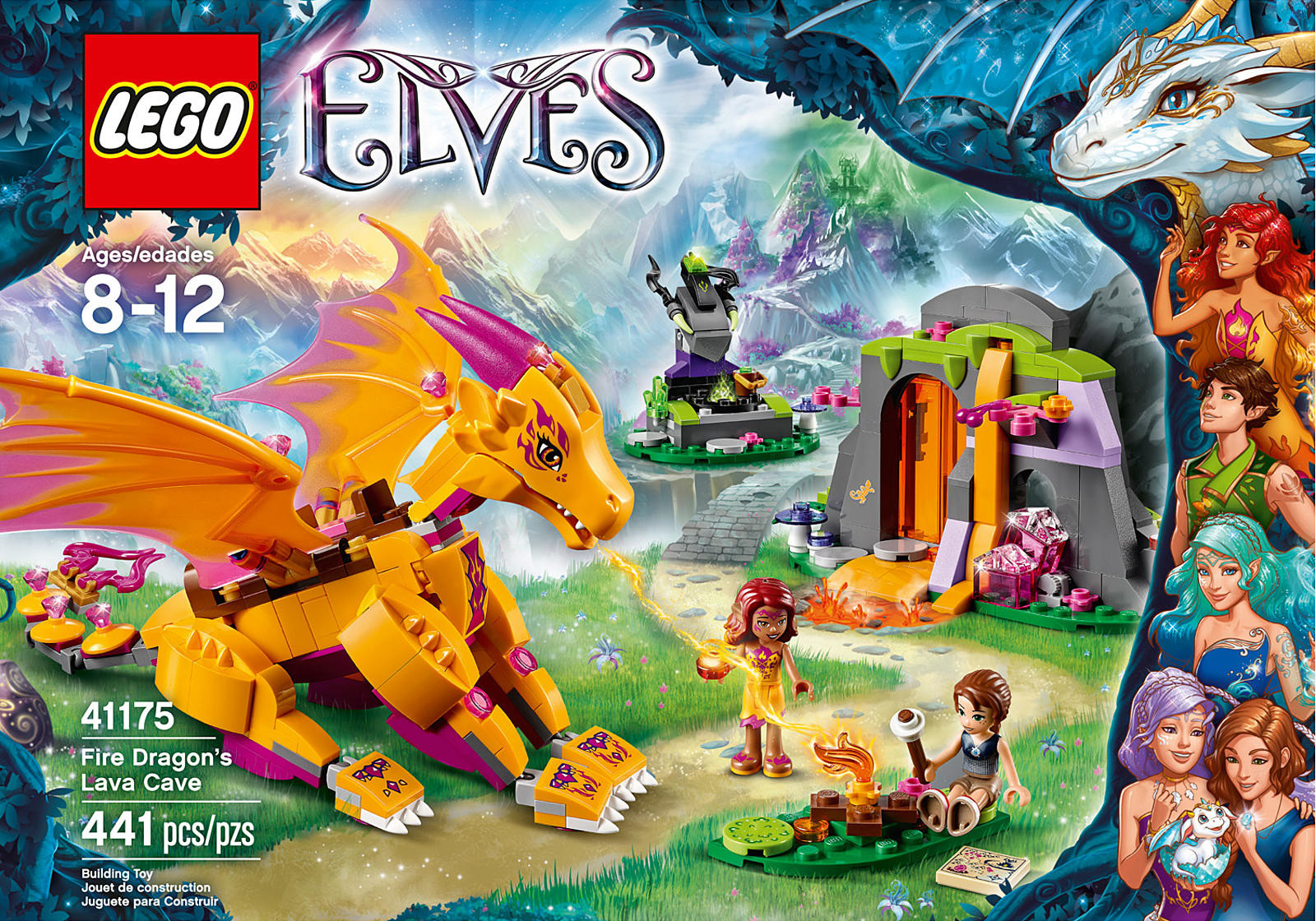 Lego Elves kit: Fire Dra