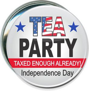 Promotional Product - Political - Tea Party, Independence Day - 3 Inch ...