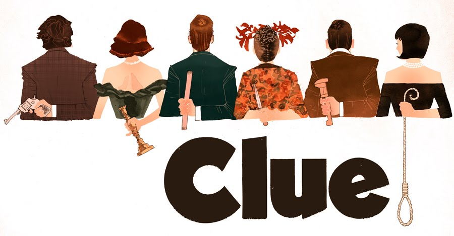 """... """" align=""""aligncenter"""" width=""""500""""] Movie poster for Clue [/caption"""
