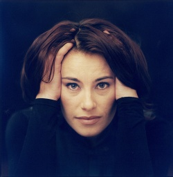Photo of Camilla Gibb in the late 1990's