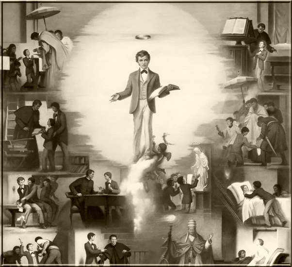 St Dominic Savio, Patron of First Communicants