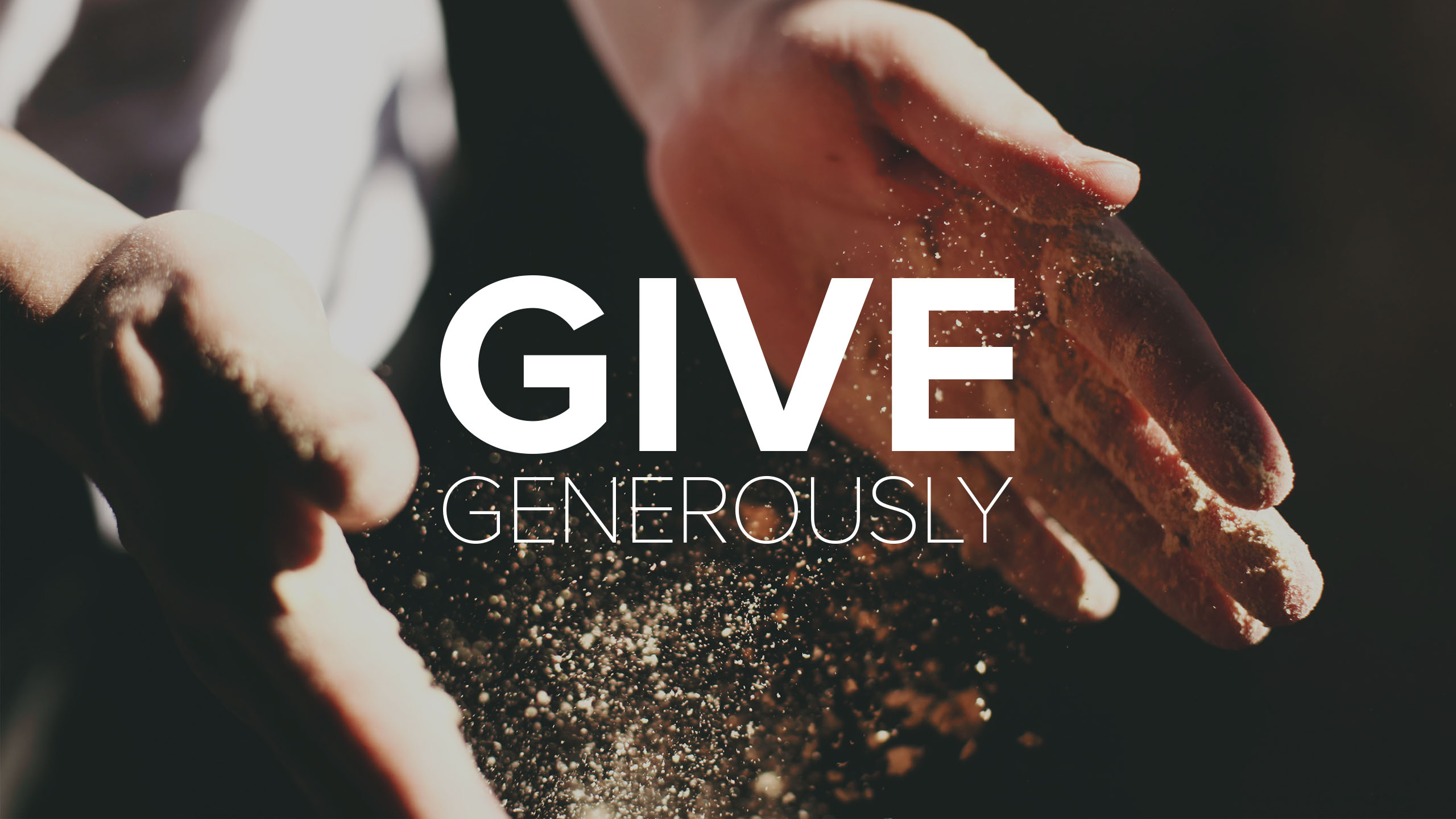 Give Generously - Christ's Commission Fellowship
