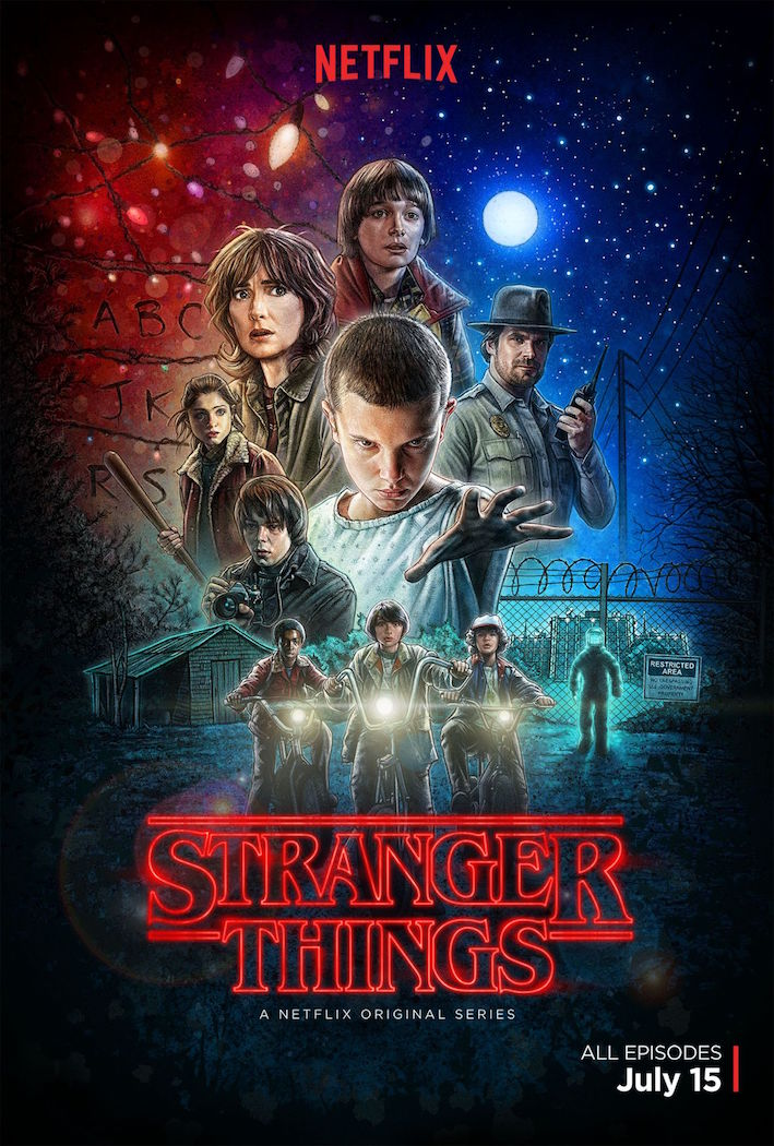 Stranger Things – nouveau poster