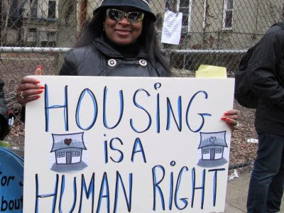Class Action housing is a human right and homeless ...