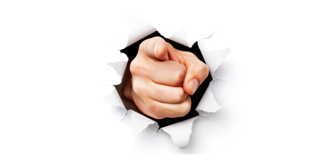 Picture Of A Finger Pointing - ClipArt Best
