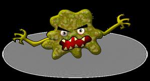 Cartoon Virus Clip Art at Clker.com - vector clip art online, royalty free & public domain