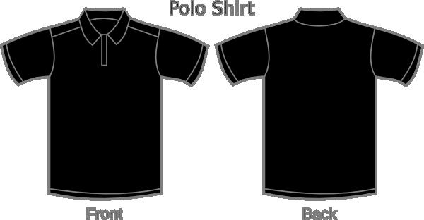 Black Polo Shirt Clip Art at Clker.com - vector clip art online, royalty free & public domain