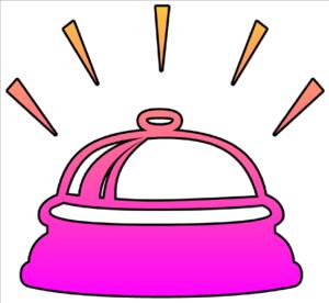 Bell Ringing Cutout Clip Art at Clker.com - vector clip ...
