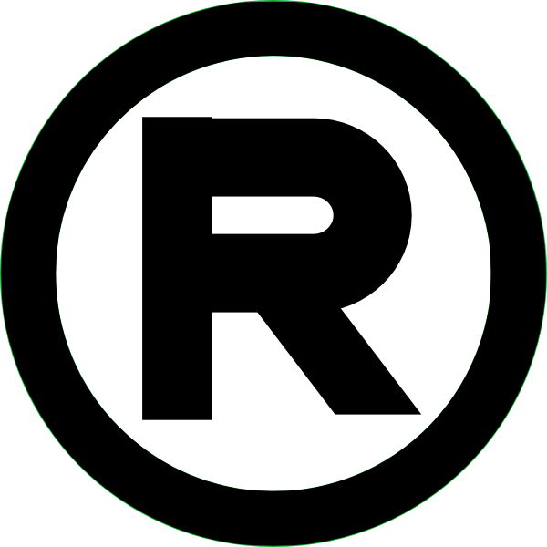 Registered Trademark Black Clip Art at Clker.com - vector ...