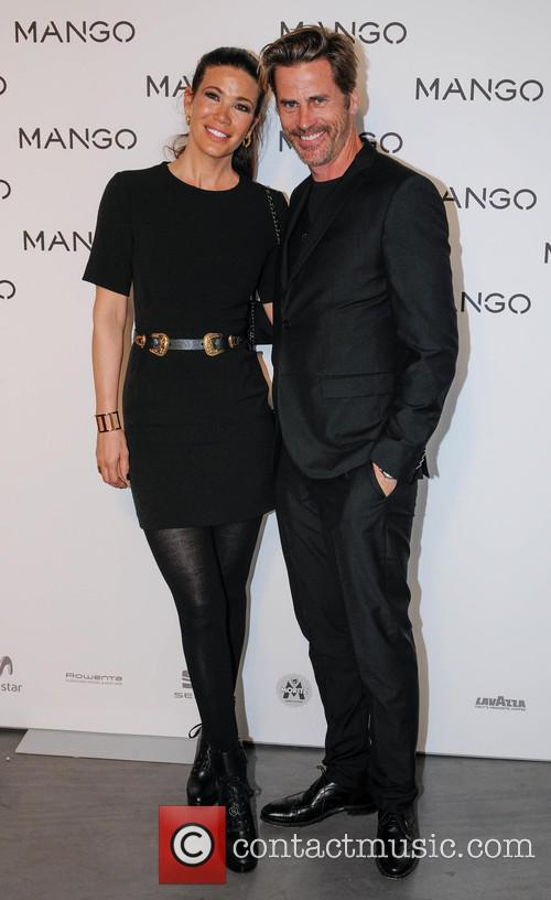 Robine van der Meer with Husband Mark Vanderloo