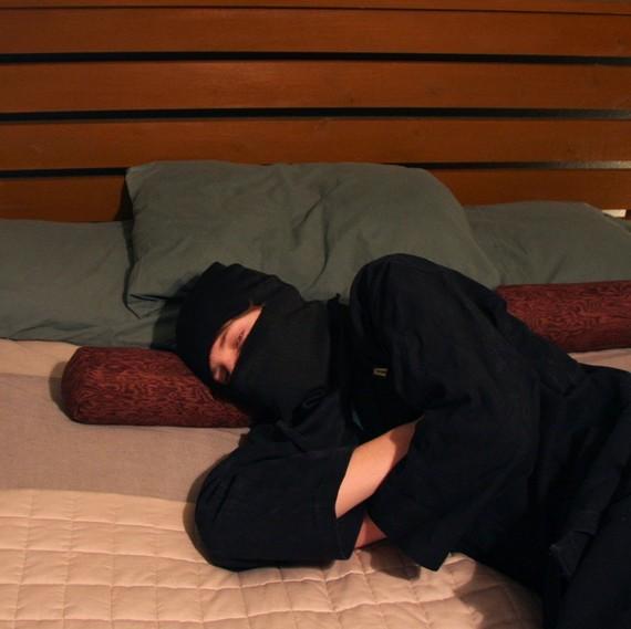 Nunchuck Pillows For Your Sneaky Ninja Naps