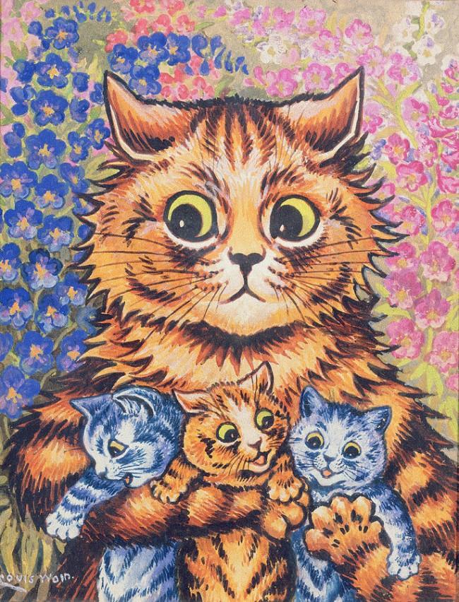 Louis Wain… The Schizophrenic Cat Man | CVLT Nation