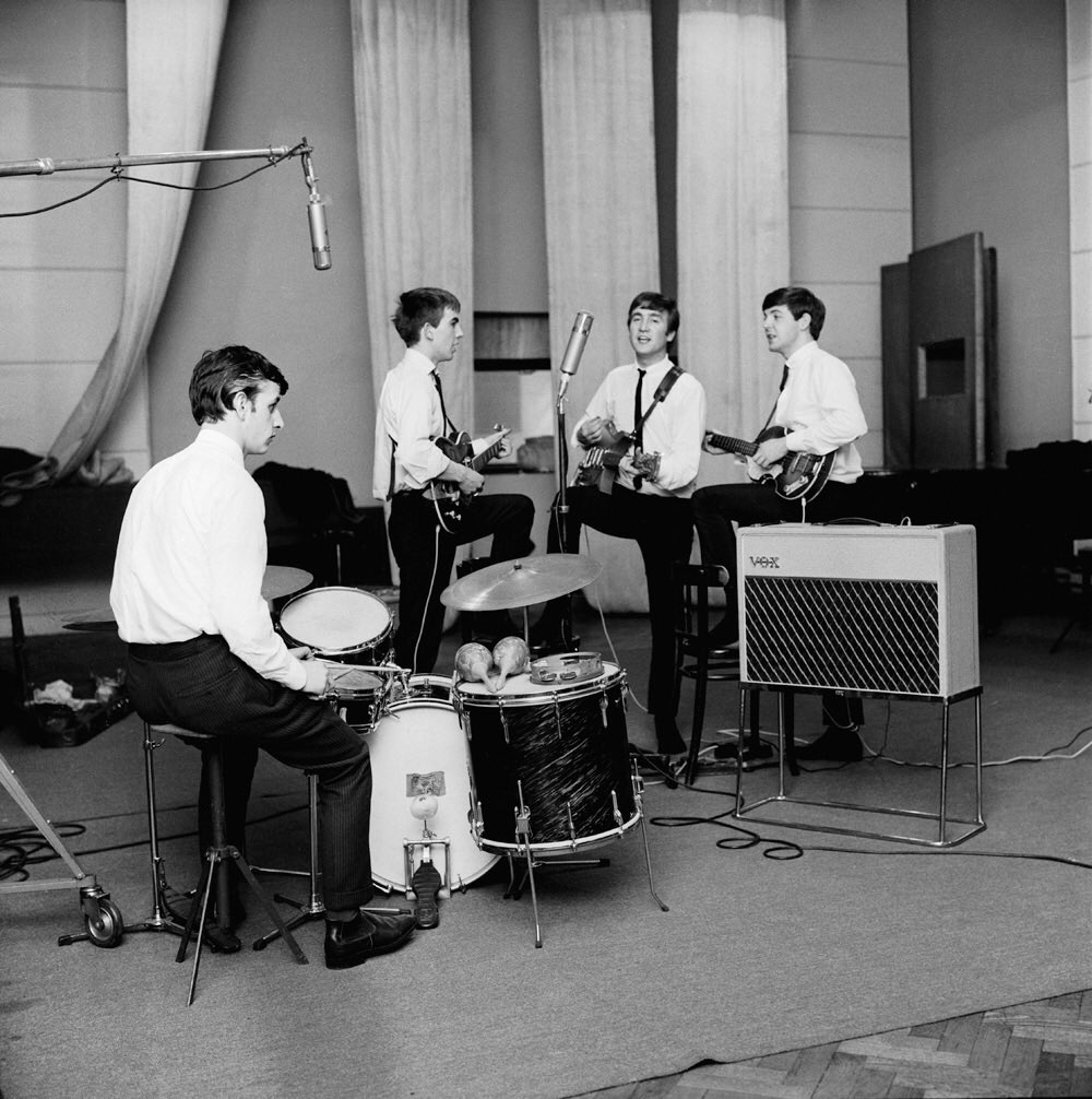 The Beatles very first studio album, recorded on the 11th ...