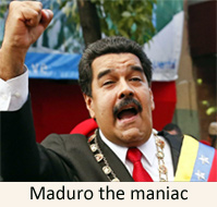 That sewer of depravity aka Venezuela's President Maduro tells people fleeing country: 'Stop cleaning toilets abroad and come back' ?u=http%3A%2F%2Fwww.designsonthetruth.com%2Fwp-content%2Fuploads%2F2016%2F08%2FMaduro-Venezuela