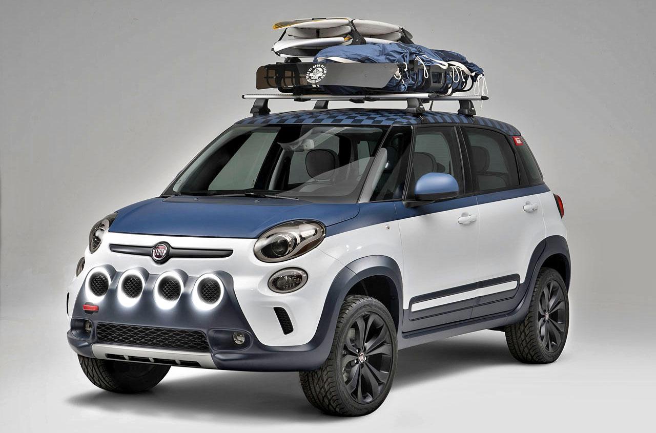 Fiat unveils 500L Vans concept for 2014 Vans US Open of Surfing