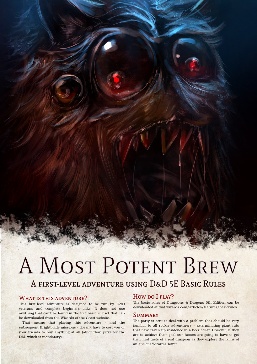 Cover of A Most Potent Brew