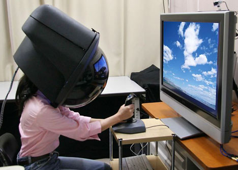 Virtual Reality Helmet