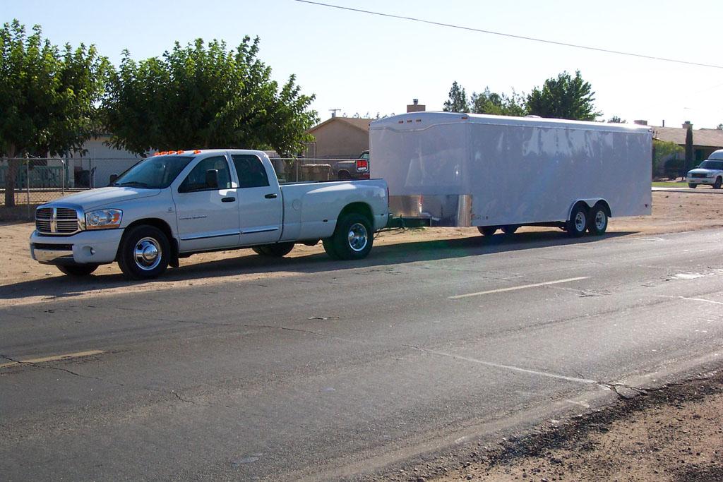 Stock 2006 Dodge Ram 3500 Dually 1/8 mile Drag Racing timeslip 0-60 ...