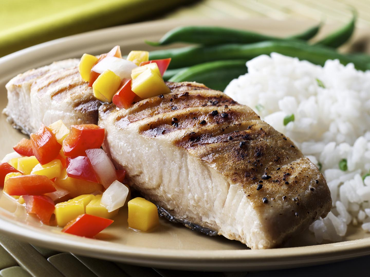 Grilled Fish With Tropical Relish - Dr. Weil's Healthy Kitchen