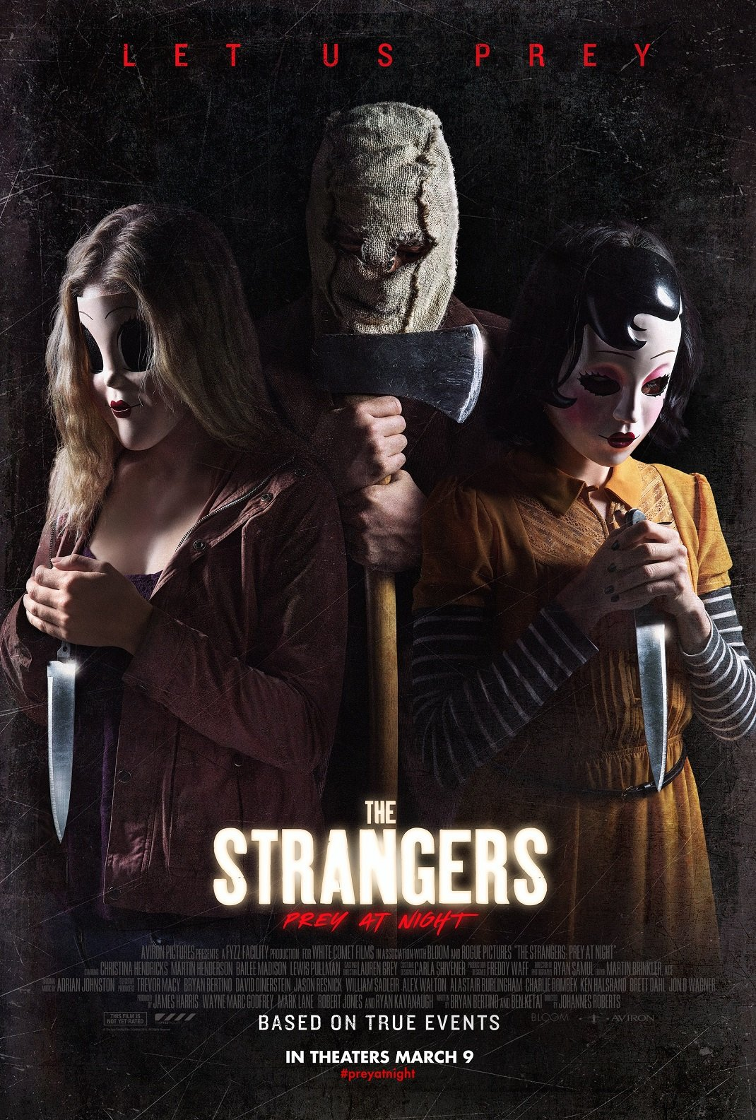 Awesome New Poster for 'The Strangers: Prey at Night ...