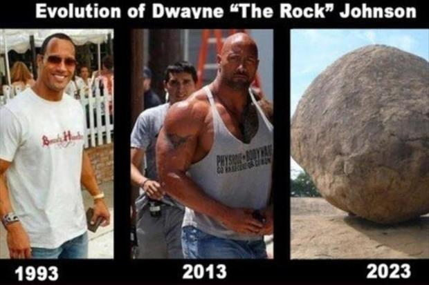 Dwayne Johnson the rock funny pictures - Dump A Day