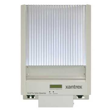 Xantrex GT 2.8 - 2800 Watt 208/240 Volt Grid Tie Inverter - Xantrex ...